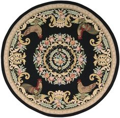 Everwheres Black Area Rug