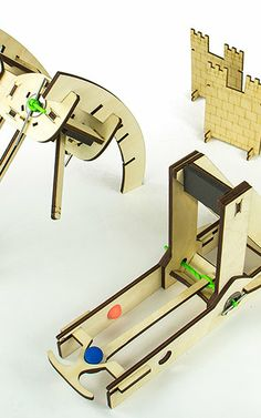Trebuchet Your Boss Right In His Stupid Face With These Desktop Siege Engines