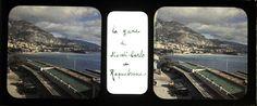 MONACO MONTE CARLO ROQUEBRUNE Autochrome Lumière stéréo 45x107mm, vers 1920   Collections, Photographies, Anciennes (avant 1900)   eBay!