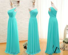 Hey, I found this really awesome Etsy listing at https://www.etsy.com/listing/216222299/turquoise-prom-dress-elegant-formal-one