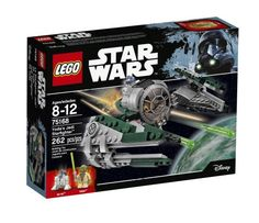 LEGO Star Wars Yoda's Jedi Starfighter 75168 Open the cockpit, load up Yoda and R2-D2 and then fly to the stars. Also includes Yoda's Lightsaber and extra shooter ammo. Star Wars, Lego Star Wars. LEGO Star Wars. | eBay!