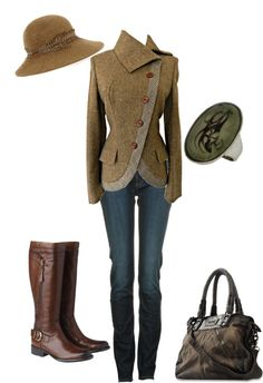 English Riding, created by Alexander McQueen Armani Jeans ~I've pinned the jackect before bcz its was just so great! Mode Country, Estilo Country, Look Fashion, Autumn Fashion, Fashion Outfits, Womens Fashion, Equestrian Outfits, Equestrian Style, English Country Fashion
