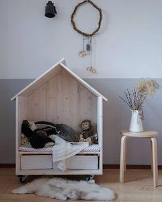 Nursery decor ideas. Baby room interior and decor.