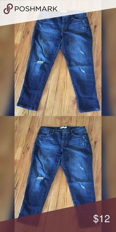Jeans Sz 18 Faded Glory Only worn twice. Denim jeans in a size 18 by Faded Glory. Excellent condition. All reasonable offers considered. Jeans Straight Leg
