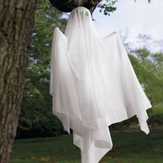 Morphing Hanging Halloween Ghost