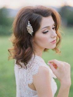 stunning crystal hair accessory