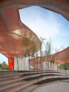 Merida Factory Youth Movement by SelgasCano 08 « Landscape Architecture Works | Landezine