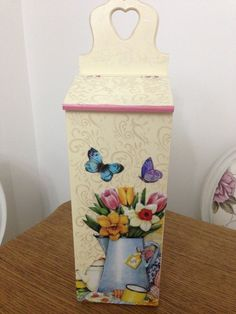 ahsap posetlik Diy Projects To Try, Wood Projects, Decoupage Box, Painting On Wood, Diy And Crafts, Stencils, Decorative Boxes, Decoration, Shabby Chic