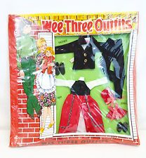 Totsy WEE THREE Mom Dad Baby DINNER DATE Outfits Fits SUNSHINE FAMILY Type Dolls