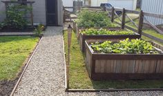 13 Easiest Ways to Build a Raised Vegetable Garden - Take apart pallets and line them end to endtable Bed in Your Garden -