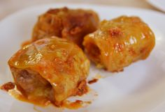 SARMA  Stuffed cabbage rolls, or sarma, is a traditional Macedonian food which is prepared mostly in winter. Since it is prepared in larger quantities, sarma is usually eaten for several days. If you can resist the temptation, eat it the next day after preparation, it tastes better!