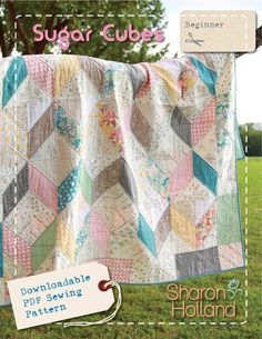Looking for your next project? You're going to love Sugar Cubes by designer Sharon Holland. - via @Craftsy Love these fabrics and this quilt!