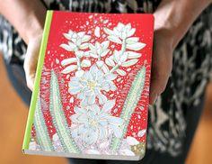 Habit of Art: giveaway! succulents eco-journal by Jill Bliss