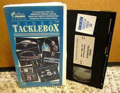 VIDEO TACKLEBOX Hottest Fishing Products 1990 VHS trade show AFTMA rods & reels