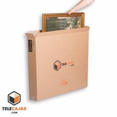 Caja de cartón para cuadros, televisores planas, espejos etc (http://www.telecajas.com) #cajasdecarton #cajasdemudanza #mudanza #telecajas
