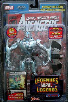 Marvel Legends Legendary Riders Series Ultron