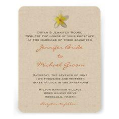 Destination Wedding Invitation #invitations #wedding #destination #beach #hawaii #destinationweddings #DIY
