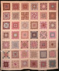Quilt by Sue Garman. I see each of these blocks as it's own entity.