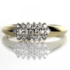 The Sparkle and Shine, Diamond Ring in Yellow Gold