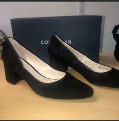 8cc163823e3fb COLE HAAN SUEDE ELIREE PUMP SHOES SIZE 9  fashion  clothing  shoes   accessories