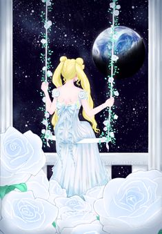 Find images and videos about sailor moon, usagi tsukino and princess serenity on We Heart It - the app to get lost in what you love. Sailor Moon Crystal, Cristal Sailor Moon, Arte Sailor Moon, Sailor Moon Fan Art, Sailor Moon Usagi, Manga Anime, Anime Art, Princesa Serena, Sailer Moon