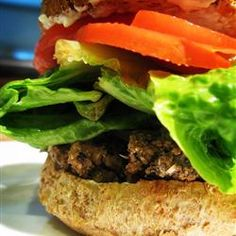 These veggie burgers are really great! So easy to make and so healthy