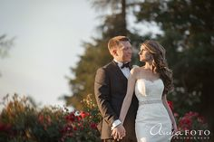 bride and groom, summer wedding