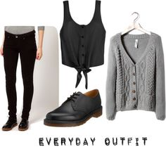 """""""Casual everday outfit"""" by anjakrejberg ❤ liked on Polyvore"""