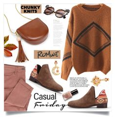 """""""Get Cozy: Chunky Knits"""" by samra-bv ❤ liked on Polyvore featuring Bobbi Brown Cosmetics"""