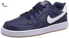 Nike  Son Of Force, Baskets pour garçon Bleu Blau (Midnight Navy/White-Gum Light Brown) 39.5 - Chaussures nike (*Partner-Link)