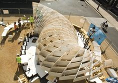 'Swoosh' pavilion swoops into view at the AA | Technical | Building Design