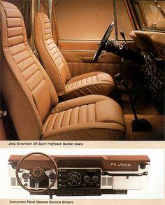 Jeep Scrambler Interior Ad
