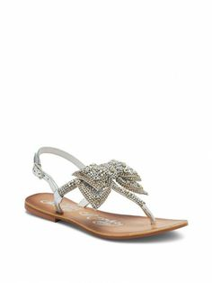 e92802ea4 Jeweled Delight Rhinestone Bow Sandal - Naughty Monkey™ - Victoria s Secret  on Wanelo
