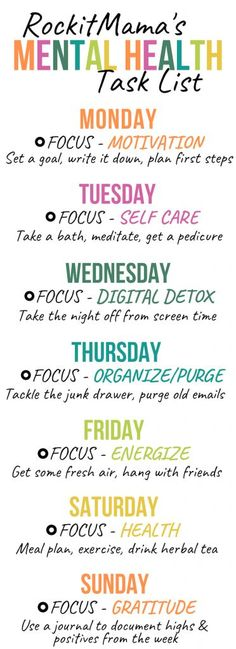 7 Simple Practices for Boosting Mental Health - FREE Printable Included - Rock it Mama