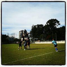 Sábado de manhã é sempre dia de rugby!