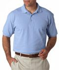 100% ComfortSoft® cotton means that this value uniform Piqué polo will feel as great as it looks.
