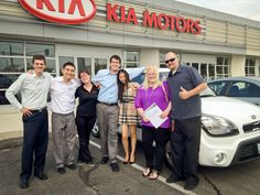 Picking up a new Kia Soul in Newmarket, Ontario!