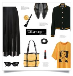 """Hello Yellow!"" by diane1234 ❤ liked on Polyvore featuring See by Chloé, Salvatore Ferragamo, FABIANA FILIPPI, NYX, Bare Escentuals, Oribe, Jil Sander, PopsOfYellow, fancyflats and magicslippers"