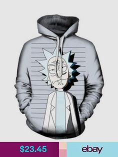 a97fe4650b0 Sweats   Hoodies Women Men Hoodie Sweatshirt Rick And Morty Print Pullover  Jacket
