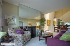 Downtown Portland penthouse condo staged by Room Solutions Staging  #PortlandHomeStaging