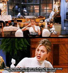 Friends - Ross trying to get Rachel back