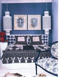 Morrocan inspired room