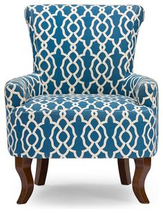 Cool Patterned Armchair 20 With Additional Interior Design Ideas For Home Design with Patterned Armchair Blue Armchair, Patterned Armchair, Swivel Rocker Recliner Chair, Wingback Chair, Chair Pads, Chair Cushions, Home Design, Interior Design, Interior Decorating