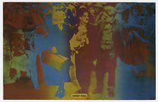 Rare! Original 1967 PETER MAX Postcard - OUR GANG Poster