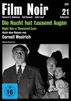 Night Has a Thousand Eyes - DVD (Koch Media Region 2) Release Date: Available Now (Amazon.de Germany)