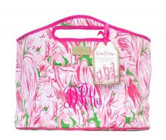 Lilly Pulitzer Pink Colony Beverage Bucket