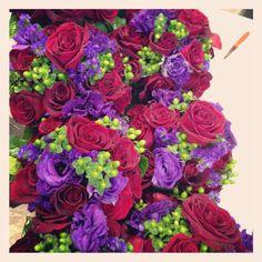 Lauren's #bridesmaids bouquets #flowers by Carol Lynn Originals & Events