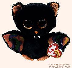 Scaren - vampire bat - Ty Beanie Boos