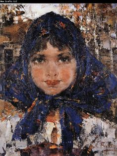 Nikolay Fechin Girl