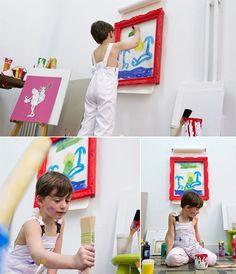 Простая идея для настоящего художника